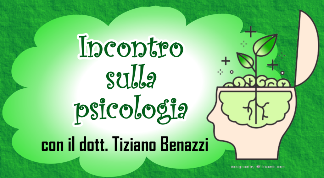 incontri su psicologia con il dott Tiziano Benazzi